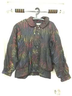 Colorful vintage andre luciano sweater / jacket