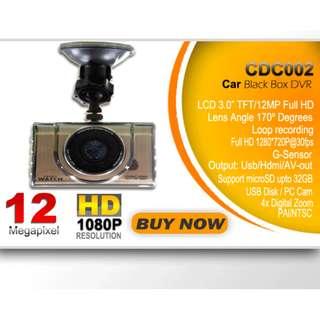 CDC002 Smartwatch Car Dash Cam
