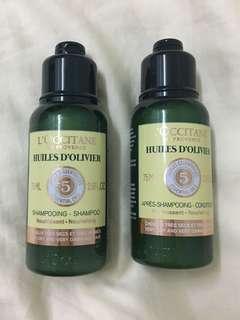 L'occitane Shampoo and Conditioner