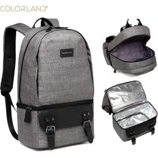 <PRE ORDER> Colorland Trendy Insulation Breastmilk Cooler Bottle In Built Storage Diaper Baby Mummy Daddy Bag Pack