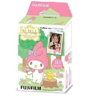 My Melody Instax Mini Film (My Melody HK) [10pcs] for Mini 7s 8 9 25 50s 55 90