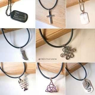 Men Stainless Necklaces (UNISEX)