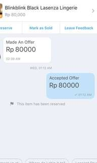 Pembeli Offer jaman now