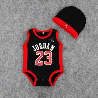 Jordan Baby Romper