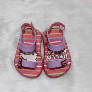 Banana Peel Hello Kitty Baby Sandals