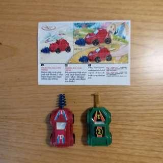 Mobil Konstruksi - Kinder Joy