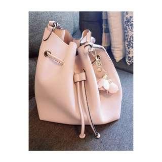 H&M Pink Bucket Bag