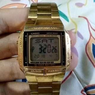 Authentic Casio Vintage Watch (Gold)