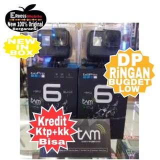 Kredit DP ringan GoPro Hero 6 Black Resmi DItoko promo ktp+kk bisa wa;081905288895