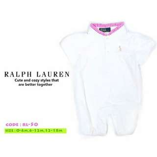 Ralph Lauren Baby Romper - RL50