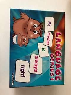 Tensai Shichida Language Genius 1 Flashcards
