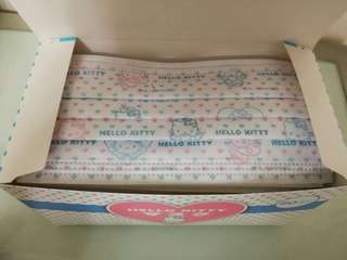 Hello kitty三層立體不織布口罩50入/一盒 HELLO KITTY FACE MASK PACK 50 PIECES