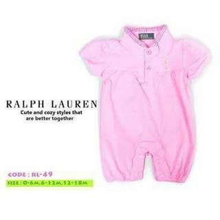 Ralph Lauren Baby Romper - RL49