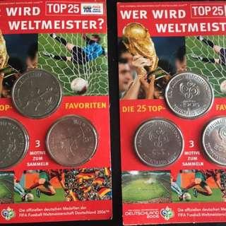 2006 德國Fifa世界盃 紀念幣