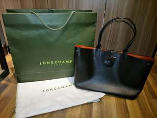 Longchamp Roseau Reversible Tote Bag