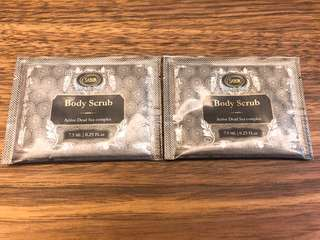 Sabon - Body scrub sample 2包(不散賣)