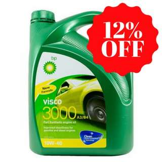 ENGINE OIL BP 10w40 4L semi synthetic