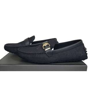 Black Moccasins Shoes PM-298 PEDRO SHOES