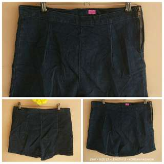 2987 DENIM SHORTS