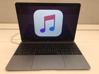 Macbook 12 inch 256gb Resmi(Kredit)