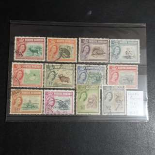North Borneo stamps 1961