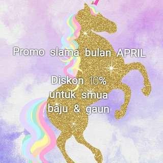 Promo APRIL !!!