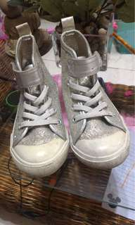 H&M shiny shimmery shoes