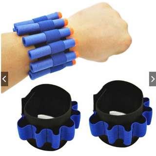 Toys Strap Bullet Holder Wrist Elastic for Nerf N-strike