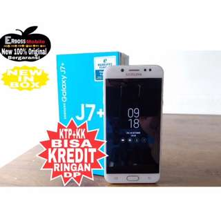 Kredit Low Dp Samsung J7 Plus Resmi-Promo Ditoko ktp+kk bisa wa;081905288895