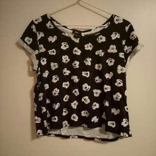Disney Cropped Tshirt
