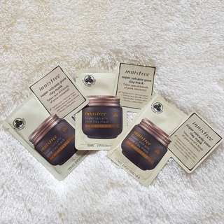 NEW Innisfree Super Volcanic Pore Clay Mask SAMPLE 3 PCS