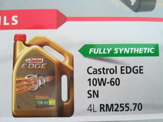 CASTROL Engine Oil 10w60 SPORT car