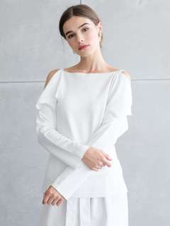 Hanson Top White by Front Row