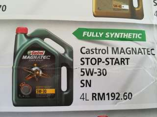 CASTROL Engine Oil 5w30 4L
