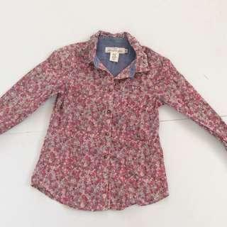 H&M Floral Long Sleeve
