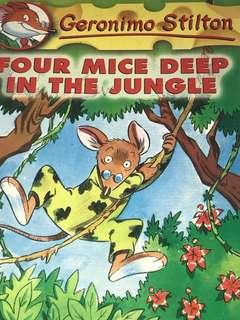 Geronimo Stilton- For Mice In The Jungle