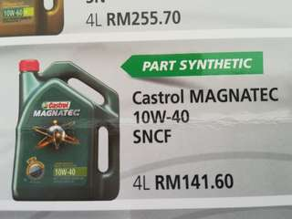 CASTROL Engine Oil 10w40 4L