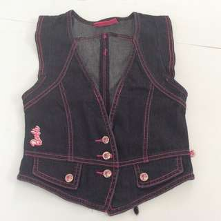 Barbie Denim Vest