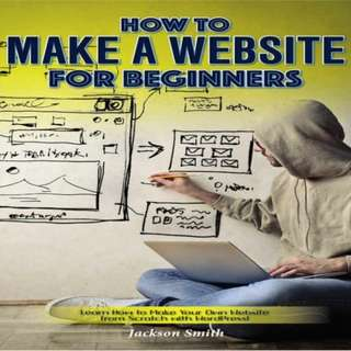 How to Make a Website for Beginners eBook