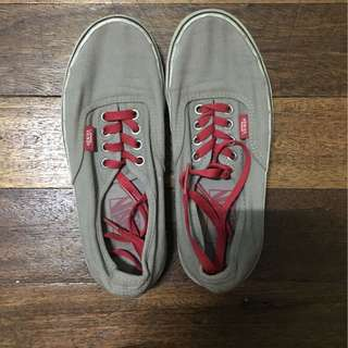 Authentic Gray Vans