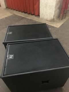 electro voice sxa180 powered subwoofer