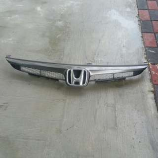 Civic fd front grille