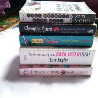 Preloved novel !