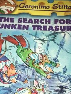 Geronimo Stilton - The Search For The Sunken Treasure