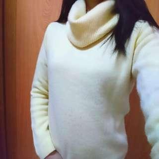 領子造型毛衣