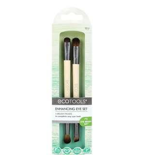 EcoTools, Eye Enhancing Duo Set eyeshadow Makeup brush