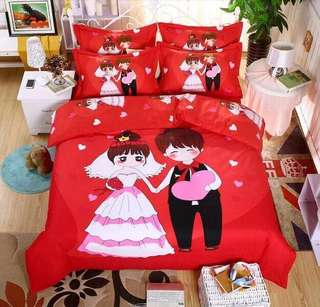 800 thread Wedding/Couple Bed Sheet