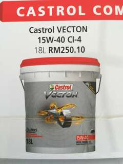 CASTROL ENGINE OIL DIESEL 15w40 18L