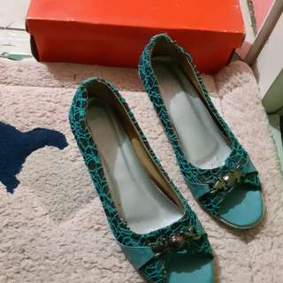 Wedges ijo tosca