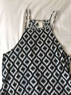 H&M pattern halter top